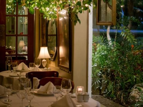 Euphemia Haye Fine Dining Room - Fine dining room with a garden views