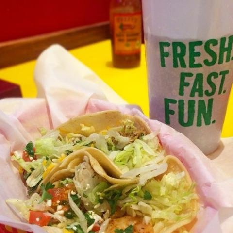 fast and fresh - Quick, casual Baja Mexican cuisine in a fun atmosphere. Full bar and patio seating.