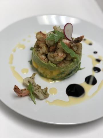 Shrimp, Avocado & Mango