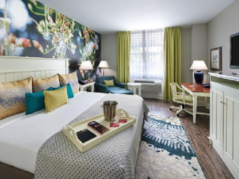 """Mention the """"Visit Florida Rate"""" or enter code """"ILVVS"""" for special guest room rates."""