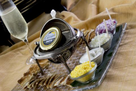 Enjoy the finer things in life! - Indulge with Champagne and caviar at Michael's On East.