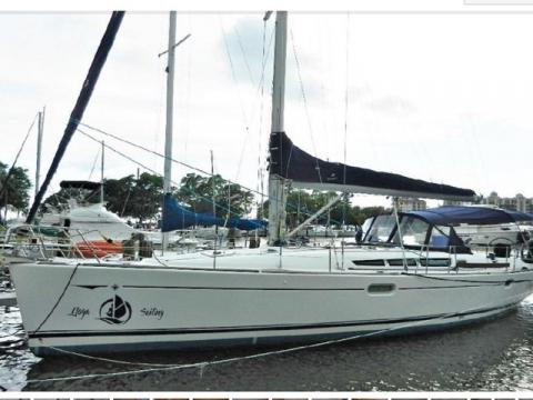 Awake - Sail away on Awake, our 45ft Jeanneau Sun Oddessy Sailboat.