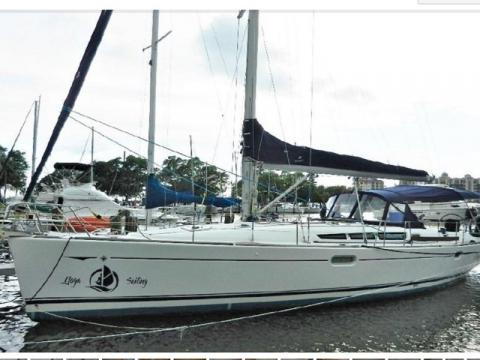 Awake - Sail away on Awake, our 45ft Jeanneau Sun Oddessy Sailboat.