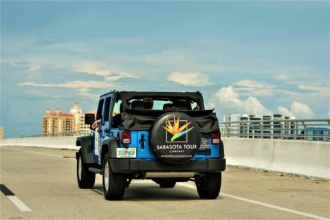 See Beyond the Beach - Sarasota's only private guided Jeep tour!
