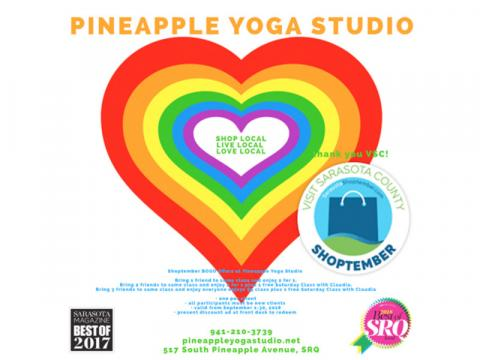 SHOPTEMBER - Pineapple Yoga Studio
