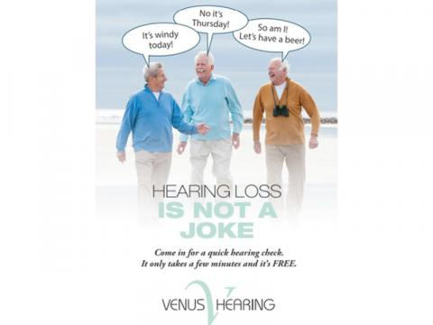 SHOTPEMBER - Venus Hearing - $500 off $2000 purchase of hearing devices