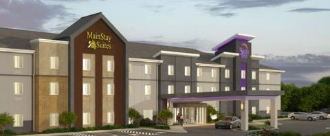 exterior image - The Brand-New Sleep Inn / MainStay Suites, Sarasota, planned opening in June 2018.