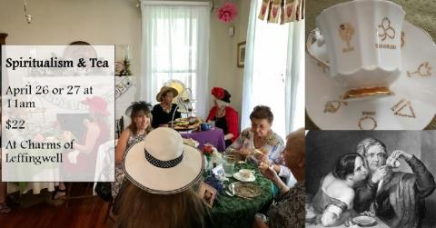 Spiritualism & Tea held at Charms of Leffingwell 4/26/19