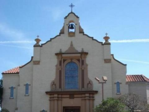 424_640x480.jpg - Photograph of St. Martha Catholic Church