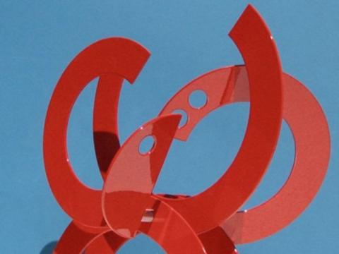 1144_640x480.jpg - GESTURE IN RED. Artist: JORGE BLANCO