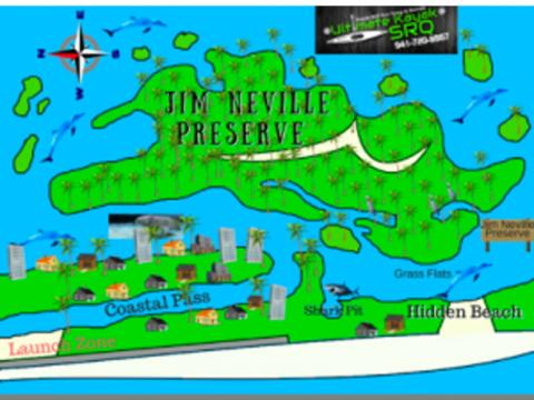 Map - Jim Neville Marine Preserve MAP