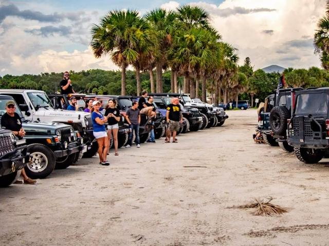 2nd Annual Jeep Poker Run