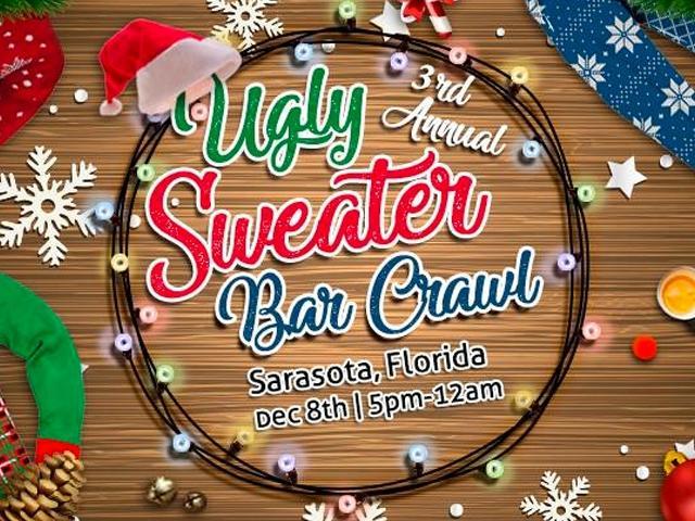 3rd Annual Ugly Sweater Crawl: Sarasota