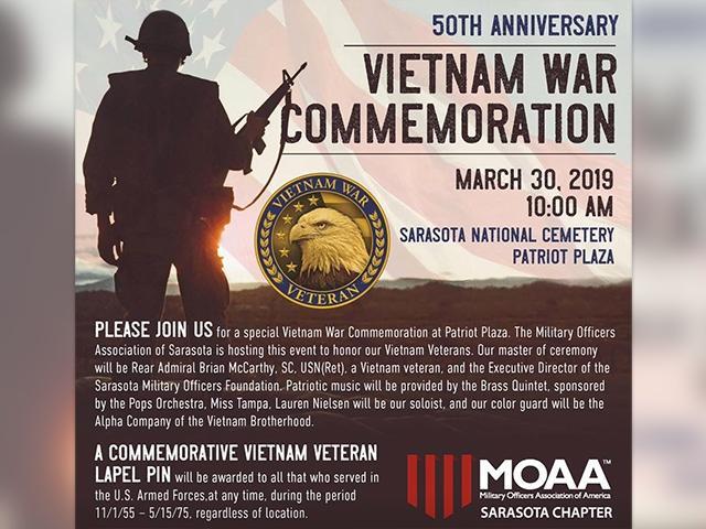 50th Anniversary Vietnam War Commemoration