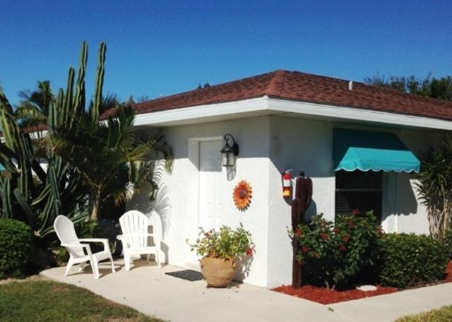 Outside Seating Studio - All of our accommodations have outside seating to enjoy the Florida sunshine!