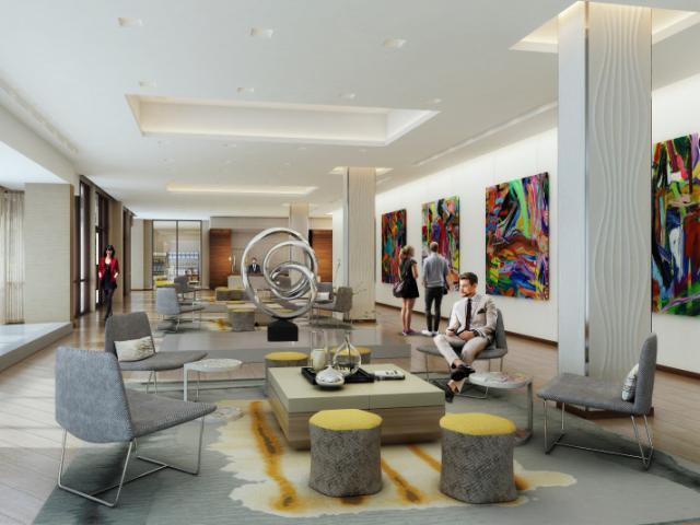 Hotel Lobby - Lobby of the Art Ovation Hotel