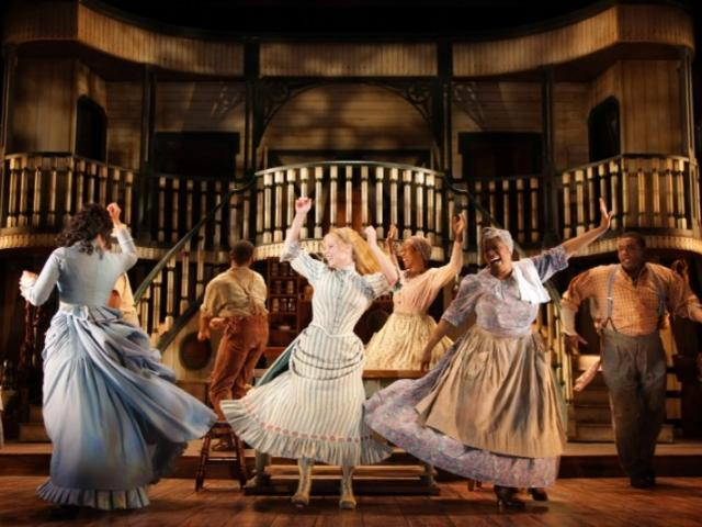 "3021_721x480.jpg - The cast of Asolo Rep's production of ""Show Boat."" Photo by Frank Atura."