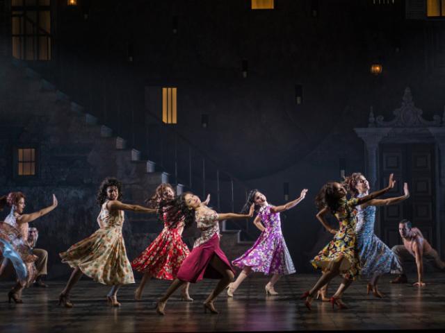 Asolo Rep's production of EVITA - Cast of Asolo Rep's production of EVITA. Photo by Paul Miller.