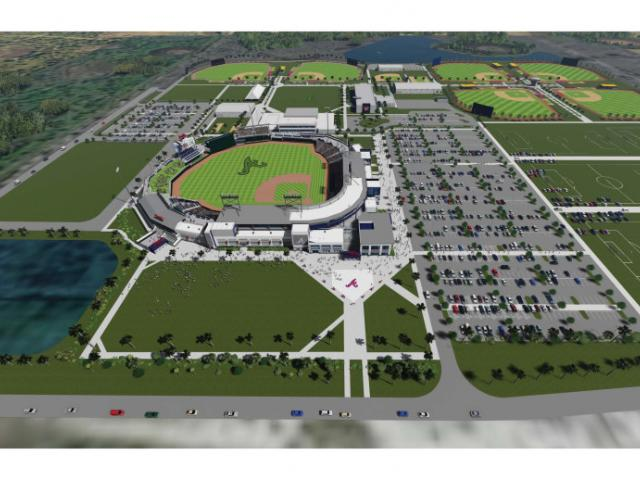 Atlanta Braves Spring Training Complex Visit Sarasota