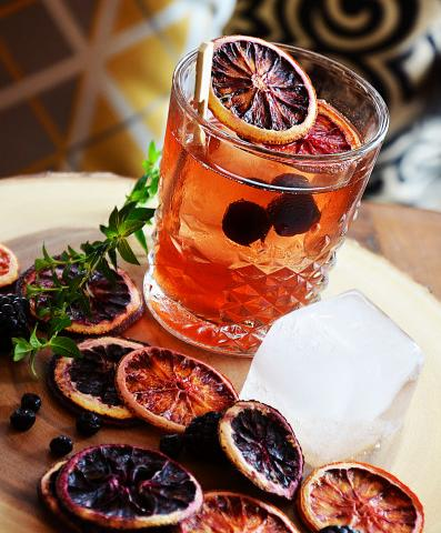 OLD FASHIONED - Old Forester Bourbon, Angostura and Black Walnut Bitters, Brown Sugar