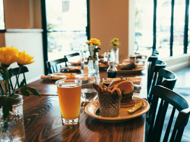 TABLE VIEW - Reserve your spot on Open Table.