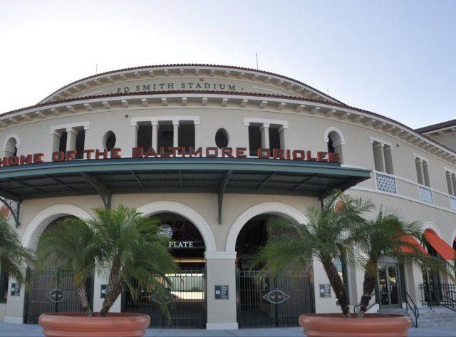Welcome - Ed Smith Stadium, Home of the Baltimore Orioles in Sarasota