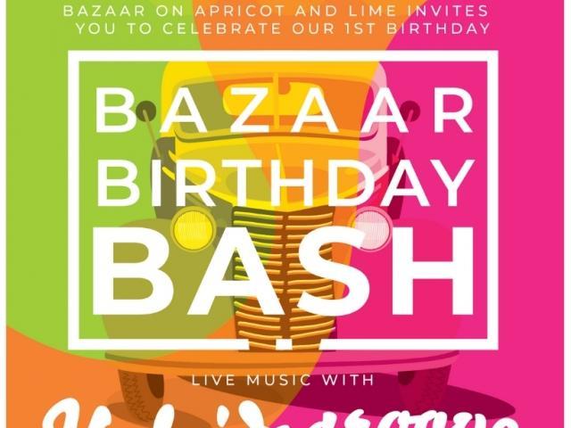 Bazaar Birthday Bash