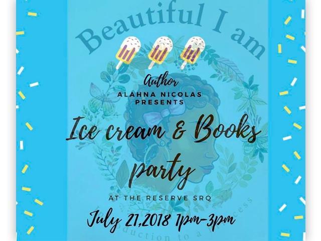 """Beautiful I Am""Ice Cream & Book Party"