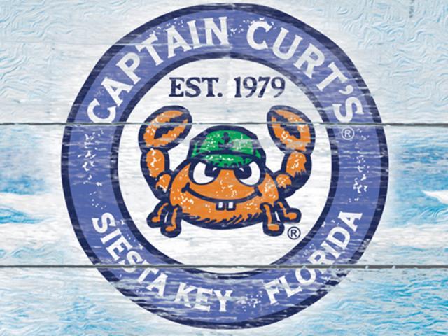 CAPTAIN CURT'S CRAB & OYSTER BAR - Logo