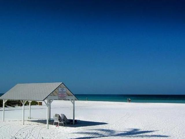 Cabanas for shade from the Sun