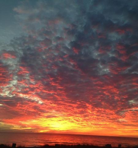 Sunset at Casa