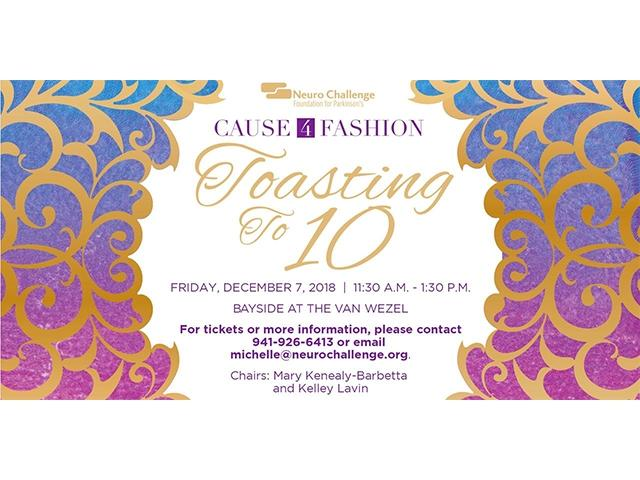 Cause 4 Fashion - Toasting to 10!