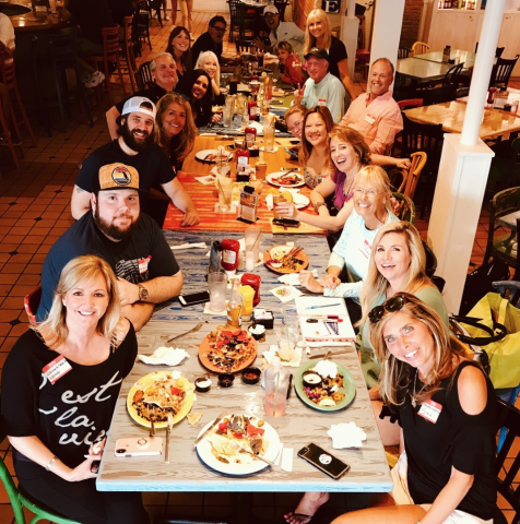 Cha Cha Coconuts - Cha Cha's loves groups! Whether a family gathering, a weekend get-together, a team-building event or a rehearsal dinner or wedding reception, Cha Cha's has a casual and fun atmosphere with delicious and affordable tropical food for your next gathering,