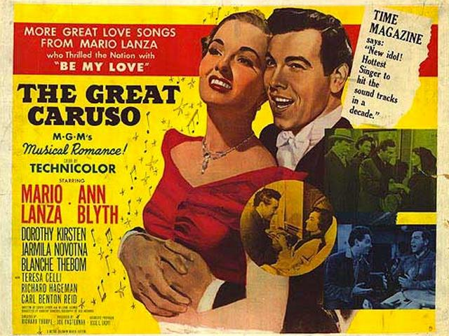 """Classic Movies at the Opera House presents """"The Great Caruso"""""""
