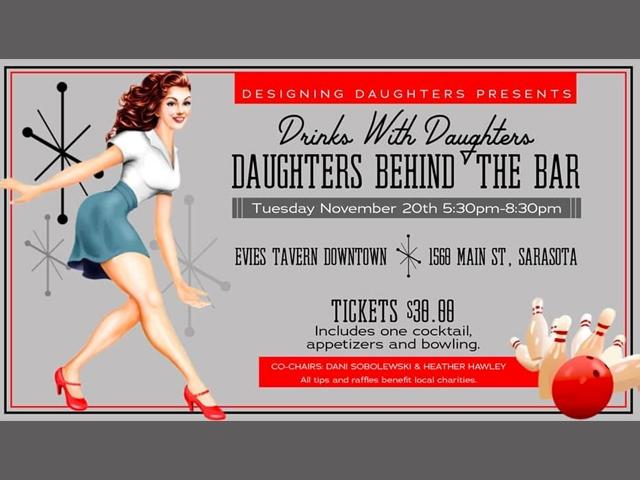 Drinks with Daughters Bartending Fundraiser