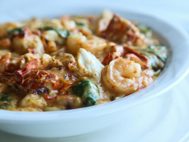 Our Chowders are chock-full of fresh seafood