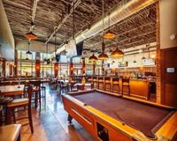 """Pool Table - Enjoy a game of pool while watching your favorite team on our 120"""" projector"""