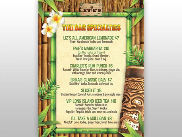 Tiki Drink Specials - Tiki Drink Specials