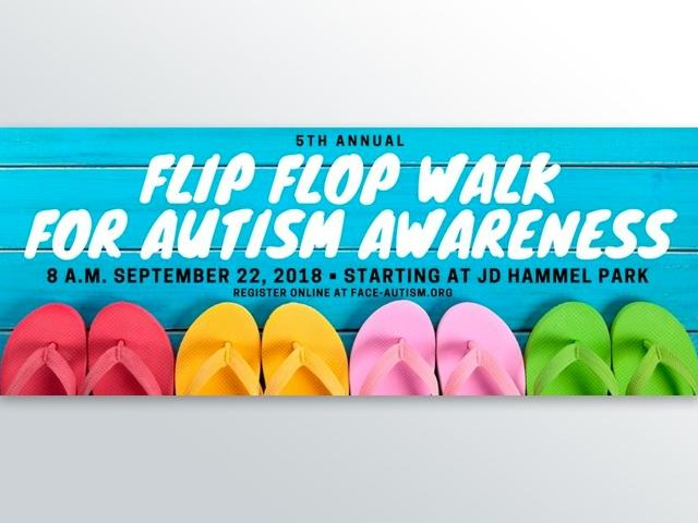 Flip Flop Walk for Autism Awareness