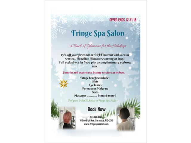 Fringe Spa & Salon Winter 2018 Deal