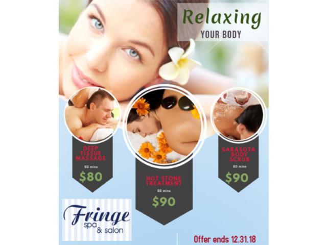 FRINGE SPA & SALON - Winter Massage