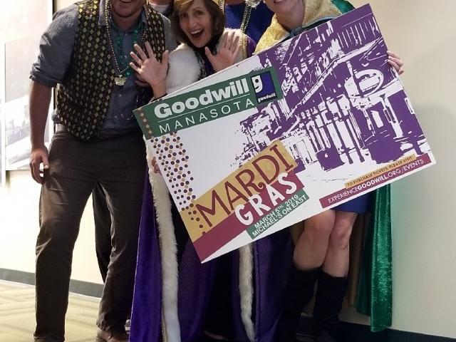 Goodwill Mardi Gras Gala