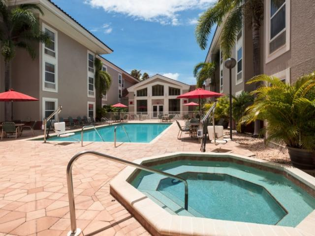 Relax - After a long day relax in our hot tub or cool off with a dip in the pool.