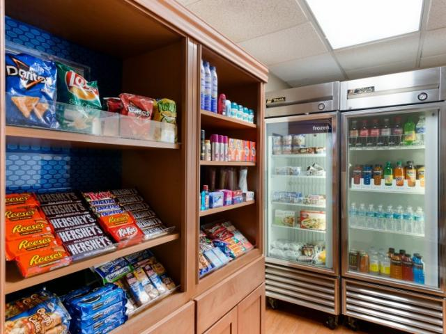 Midnight Munchies?! - Come down and grab a snack or a frozen meal. Always open!