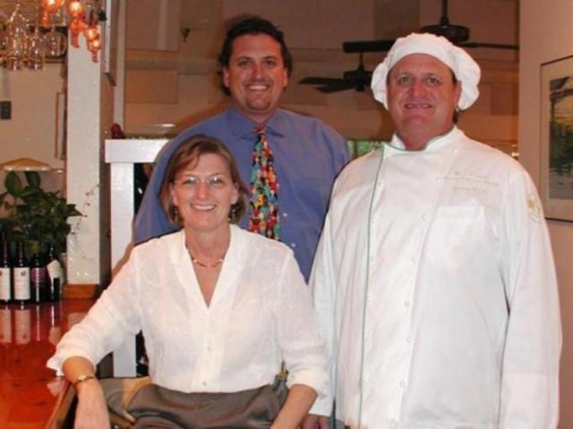216_640x480.jpg - It's a family affair!  Proprietor Lynn Christensen, son and General Manager Hal Christensen, and Chef Harry Christensen
