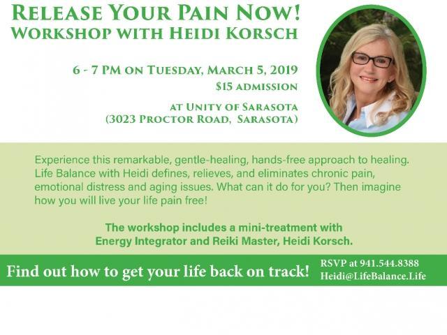 Pain Release Workshop