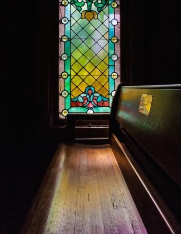 6888_640x1033.jpg - Stained-glass window in Mary's Chapel