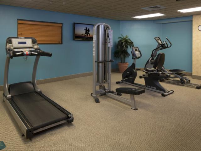 Fitness Center - Work up your appetite in our fitness center.