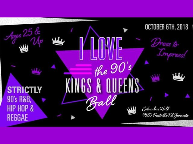 I Love The 90s Kings and Queens Ball