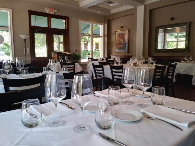 Main Dining Room - Embrace the ambiance of Italy and enjoy a meal in the intimate family dining room.